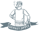 Gurnsey man in jumper