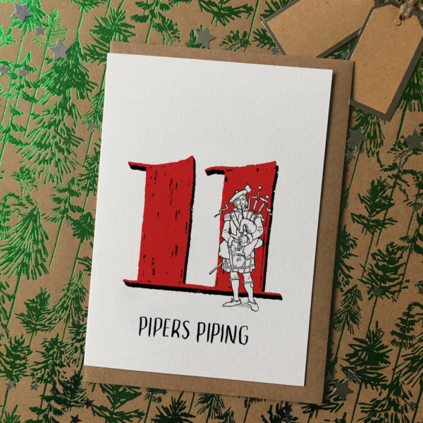 12 Days Of Christmas Christmas Cards