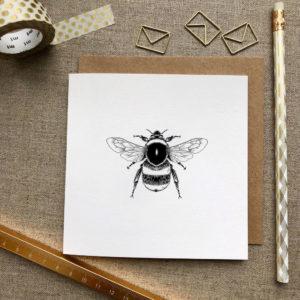 Bee Greetings Card