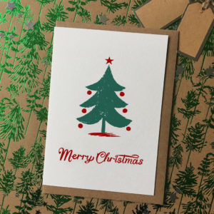 Christmas Tree Christmas Cards Pack