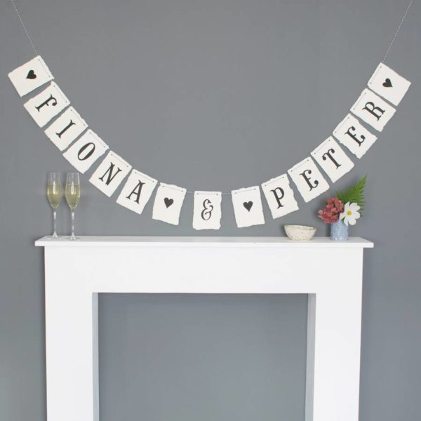 Personalised Hand Painted Bunting