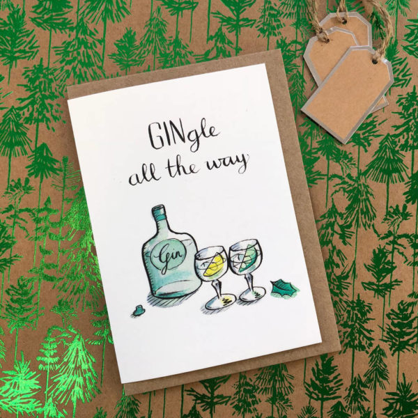 Gingle all the Way Christmas Card Pack