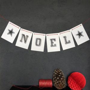 Noel Christmas Bunting