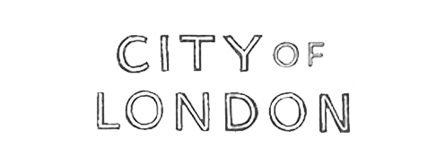 City of London Illustrated Map title