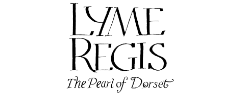 Lyme Regis Illustrated Map Title