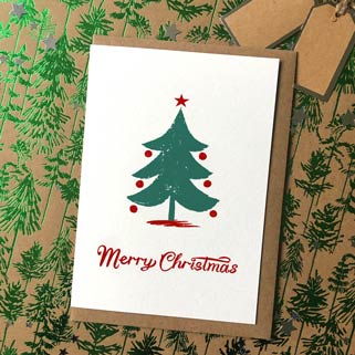Picture of a Christmas Card for the Christmas category